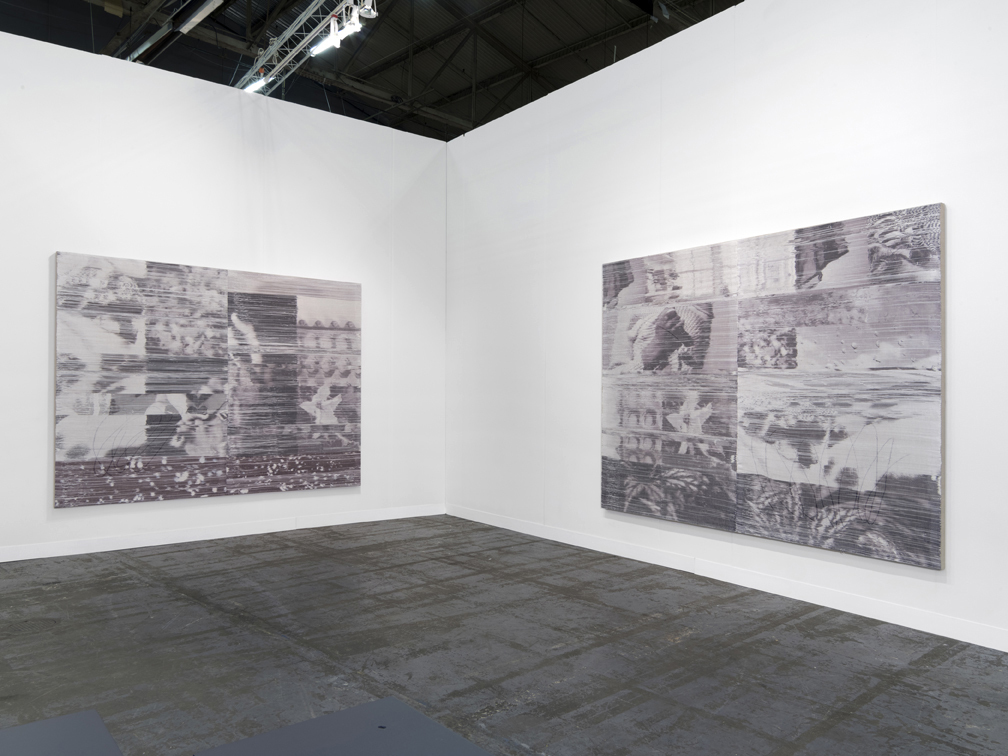 Margo Wolowiec, Installation view, The Armory Show, 2016