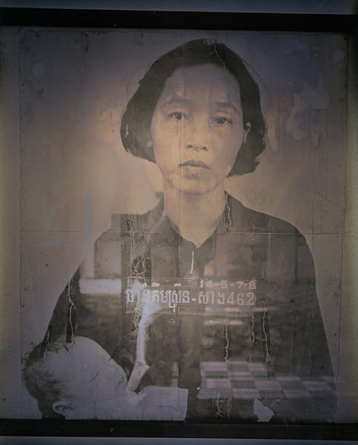, 'Mother and Child, Tuol Sleng Genocide Museum, Cambodia,' 2017, Lisa Sette Gallery
