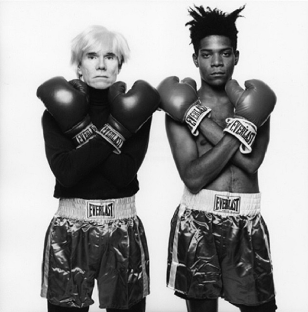 , 'Andy Warhol and Jean-Michel Basquiat #143,' 1985, SPONDER GALLERY