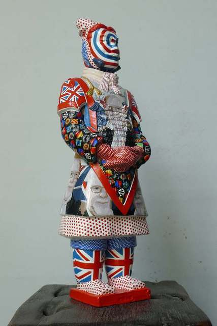 , 'Terracotta warrior - Sir Peter Blake,' 2012, Tanya Baxter Contemporary
