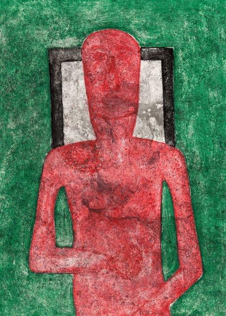 Rufino Tamayo, 'Hombre Rojo', 1976, Heritage Auctions