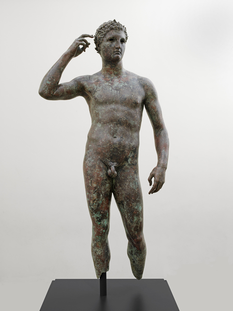 ", 'Victorious Athlete, ""The Getty Bronze"",' 300-100 B.C. , J. Paul Getty Museum"