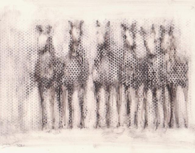 , '6 Dot Horses,' 2013, Susan Eley Fine Art