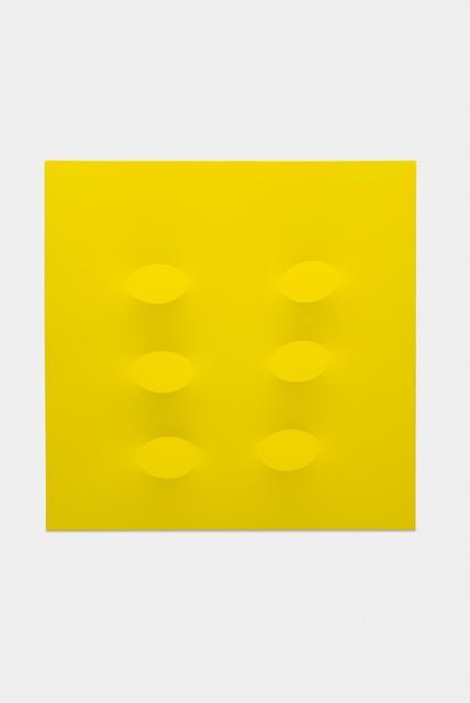 , 'Sei ovali gialli,' 2015, Almine Rech Gallery
