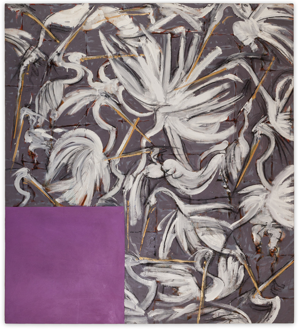 , 'Dance of the White Herons ,' 1990, Christopher Cutts Gallery