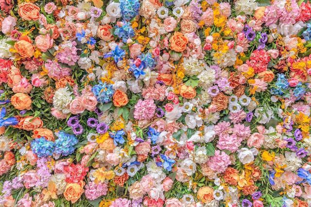 , 'Flowers in Milan,' 2019, Duran Mashaal