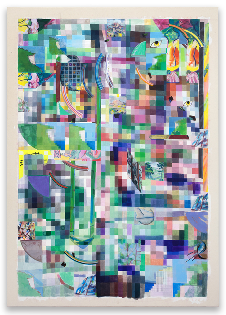 , 'selfportraitasseverini,' 2018, Federico Luger (FL GALLERY)