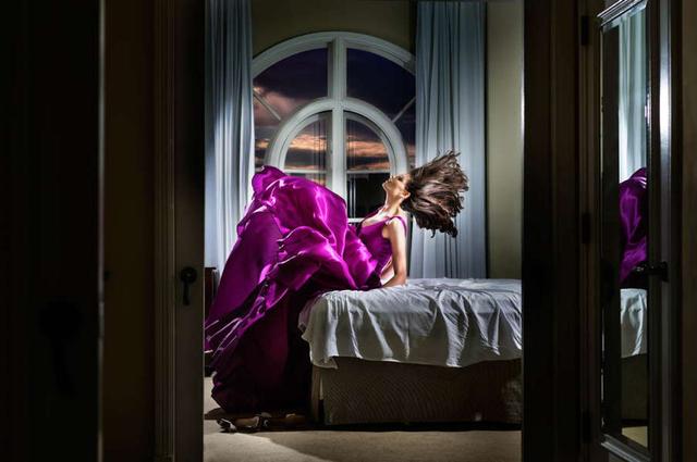 David Drebin, 'Purple Starlet', 2014, Photography, Chromogenic Print, CHROMA GALLERY
