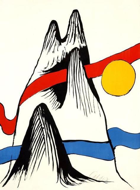 Alexander Calder, 'Mountain and Sun', 1971, Kunzt Gallery