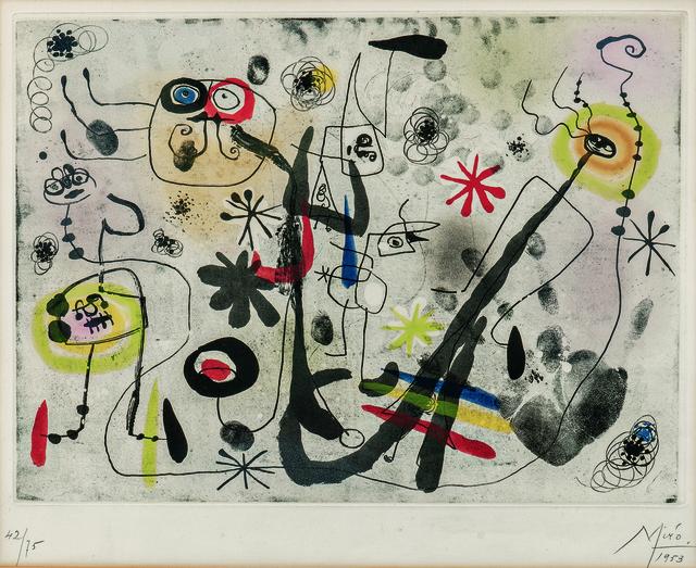 Joan Miró, 'La main', 1953, Skinner