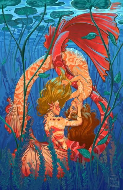 , 'Mermaids,' 2018, Helikon Gallery & Studios