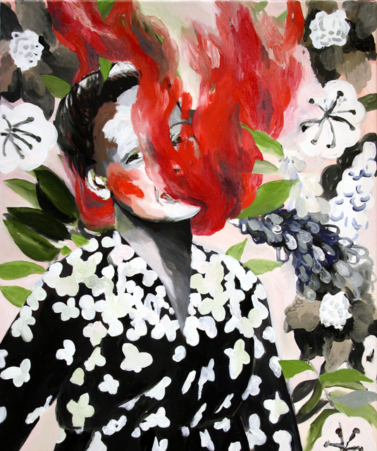 , 'Red Smoke-1 ,' 2015, Yiri Arts