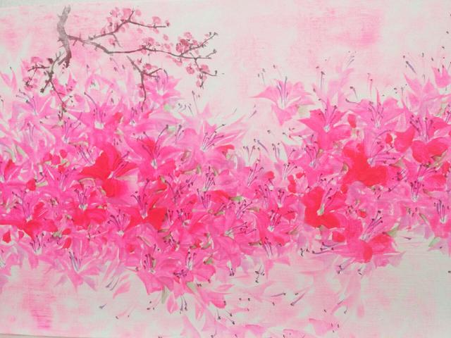 Bumhun Lee, 'Flower Dance II', N/A, Kate Oh Gallery
