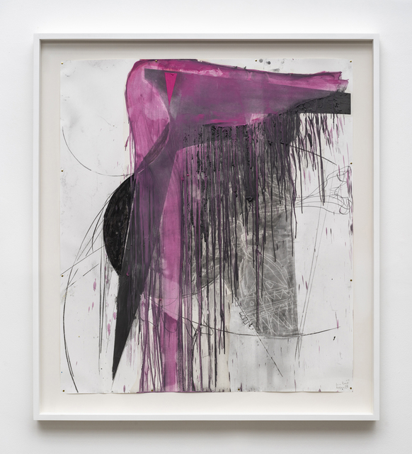 Nuno Ramos, 'Antígona 28', 2018, Drawing, Collage or other Work on Paper, Charcoal, graphite, dry pastel and encaustic on paper, Fortes D'Aloia & Gabriel