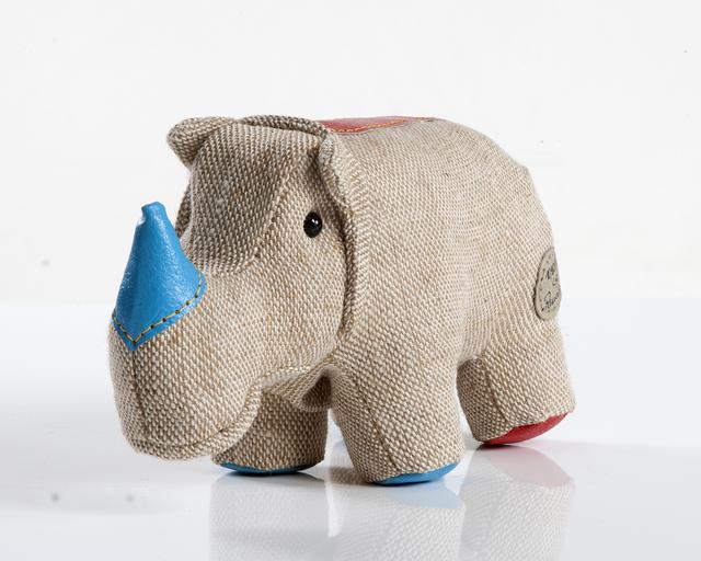 ", 'Small ""Therapeutic Toy"" Rhinoceros,' 1969/2012, R & Company"