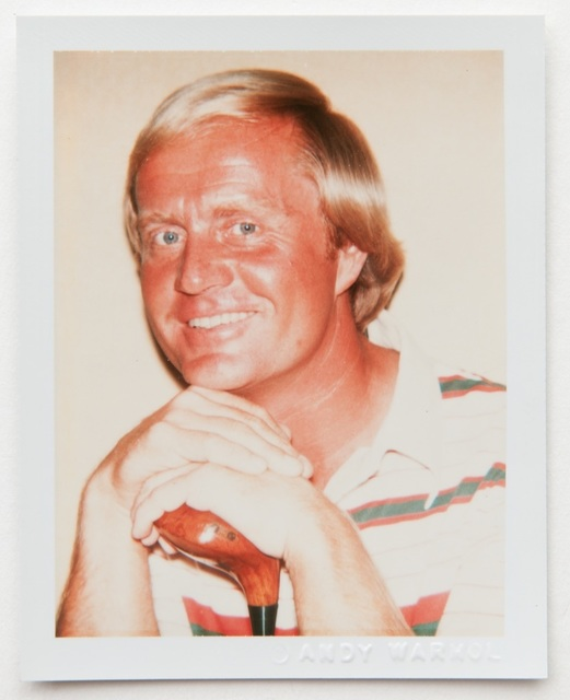 , 'Andy Warhol, Polaroid Portrait of Jack Nicklaus,' , Hedges Projects