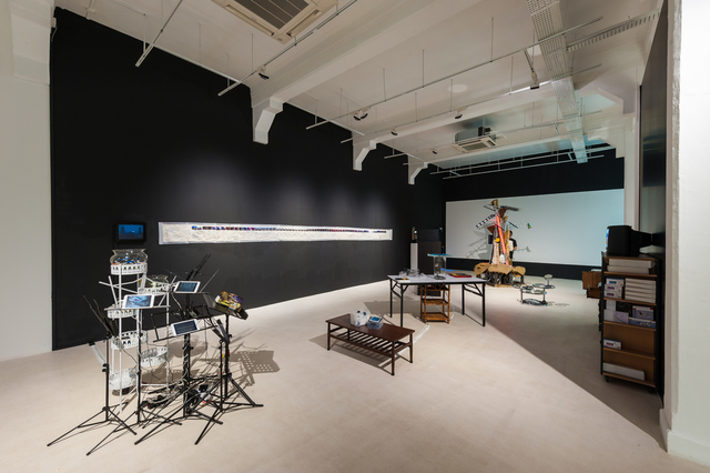 , 'Mnemonic Archiving: A Dispersive Monument,' 2016, Pearl Lam Galleries