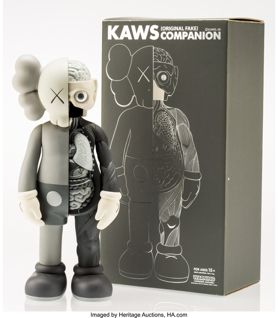 KAWS, 'Dissected Companion (Grey)', 2006, Heritage Auctions