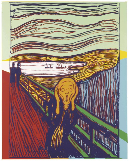 Andy Warhol, 'The Scream (After Munch)', 1984, Christie's