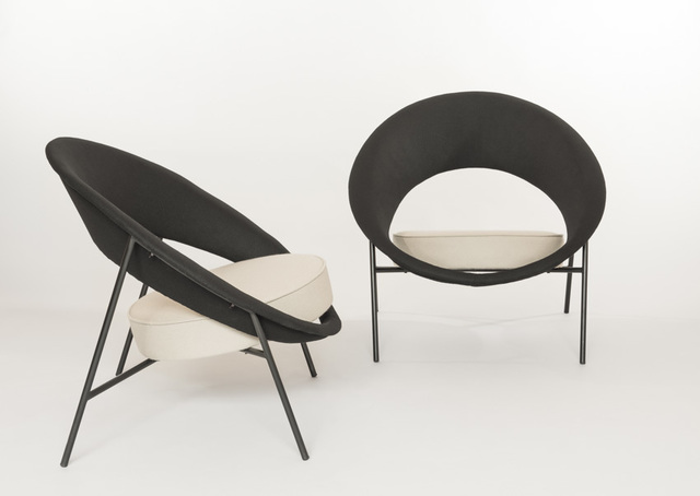 , 'Pair of armchairs 44 - Saturnes,' 1957, Galerie Pascal Cuisinier