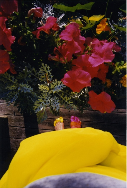 , 'Yellow Foot, Pink Foot,' 2002, Shoshana Wayne Gallery