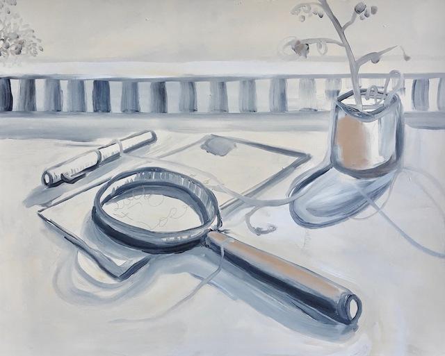 , 'Deskscape no. 2,' 2017, Gallery 16