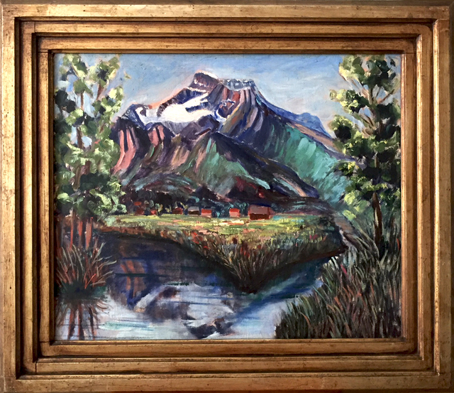 , 'Mountain Landscape,' 1930-40s?, Contemporary Works/Vintage Works