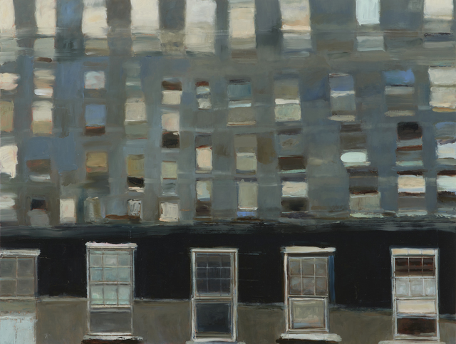 , 'Philly Windows,' 2015, Paul Thiebaud Gallery