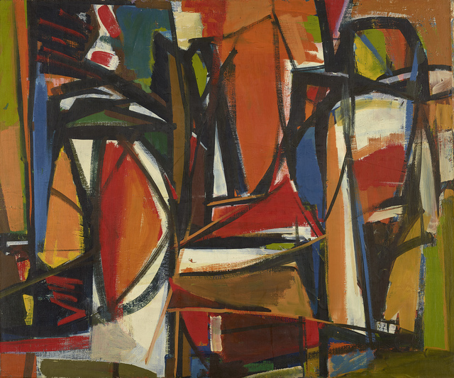 , 'Untitled (49-15),' 1949, Berry Campbell Gallery
