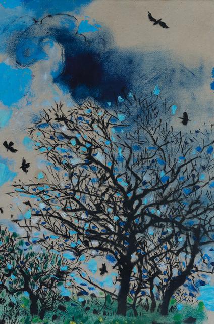 Philip Sutton RA, 'Tree with Rooks', ca. 2010, Sladers Yard