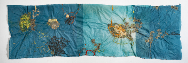 Nancy Cohen, 'Collection', 2018, Drawing, Collage or other Work on Paper, Paper pulp on handmade paper, Kathryn Markel Fine Arts
