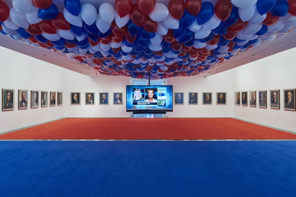 Jonathan Horowitz / November 4, 2008, 2008 / Photography: Laura Wilson