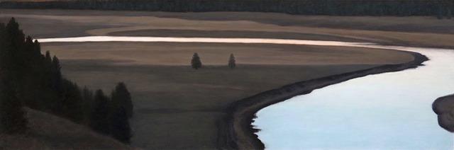 , 'Yellowstone River, Hayden Valley,' 2016, Sullivan Goss