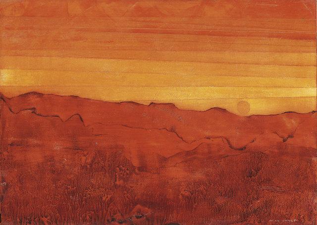, 'Arizona rouge,' 1955, Ludorff