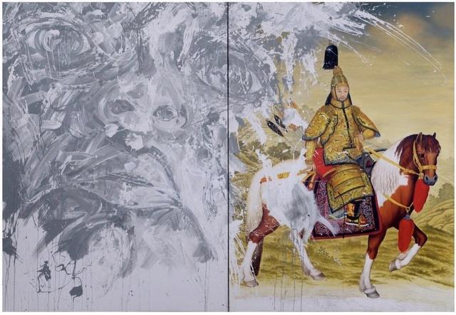 Roberto Coda Zabetta, 'Untitled (Prohibited series)', 2010, Painting, Enamel and acrylic on canvas, nm>contemporary