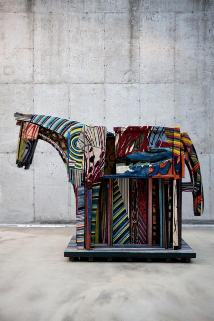 , 'Minhwa Horse,' 2011, Leehwaik Gallery