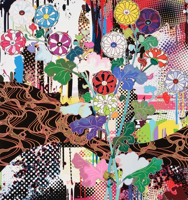 Takashi Murakami, 'Korin: Kyoto', 2020, Print, Offset print, Vogtle Contemporary