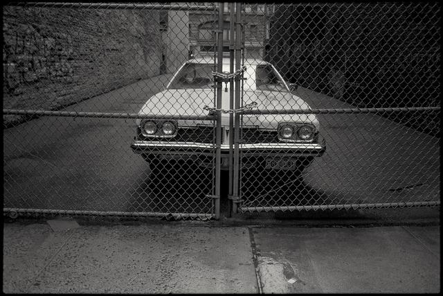 , 'White Car,' 1988, Fahey/Klein Gallery