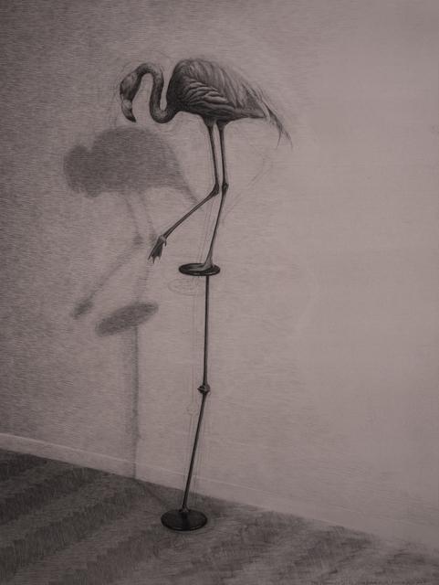 , ' The Flamingo, study for film  ,' 2017, Geukens & De Vil