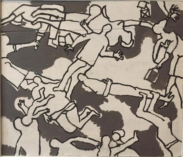 , 'Les lignes du destin,' 1983, 55Bellechasse