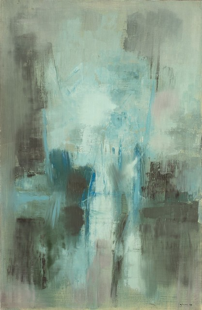 Giuseppe Ajmone, 'Schiarita', 1958, Painting, Oil on canvas, Finarte