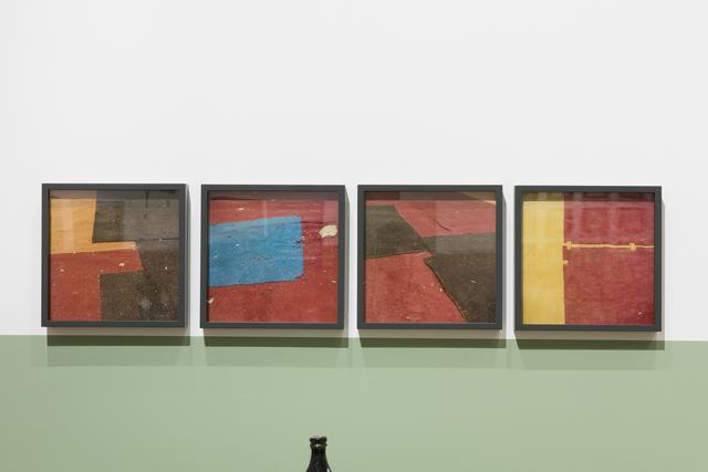 , 'Untitled (felt circus flooring, Tangier),' 2013-2015, Sfeir-Semler