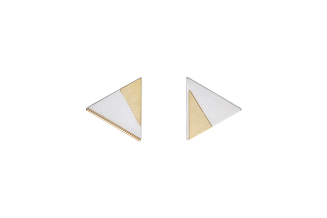 , 'Gold and Silver Clip Earrings,' ca. 2017, Facèré Jewelry Art Gallery
