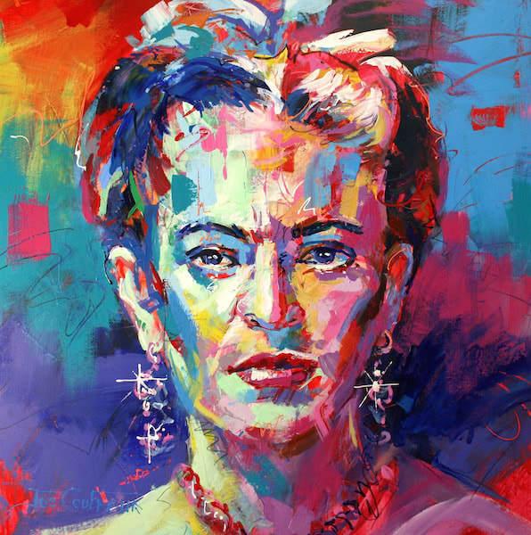 , 'Frida Kahlo,' 2018, Black Door Gallery