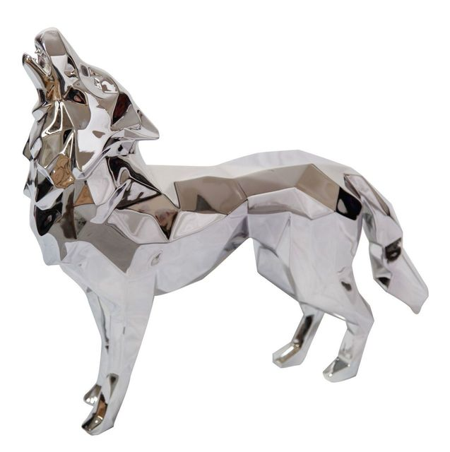 , 'Aluminium Howling Wolf,' 2017, Inception Gallery