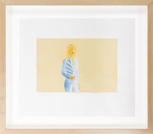Alex Katz, 'Sissel', 2006, Acquisitions Of Fine Art