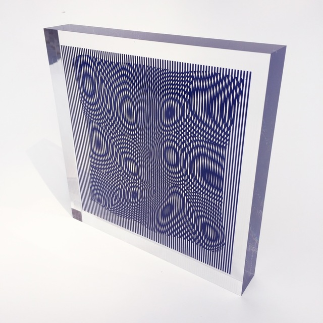 Alberto Biasi, 'Gocce in Blue', 2013, Kunzt Gallery