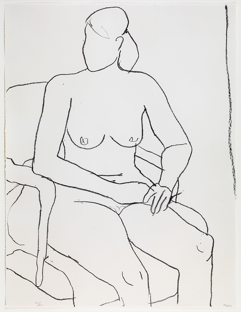 , 'Seated Nude,' 1965, Susan Sheehan Gallery