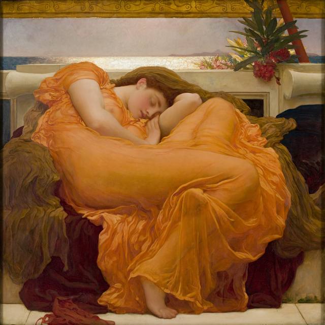 , 'Flaming June,' ca. 1895, The Frick Collection