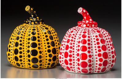 Yayoi Kusama, 'Red and Yellow Pumpkin (two works),' 2013, Heritage Auctions: Valentine's Day Prints & Multiples